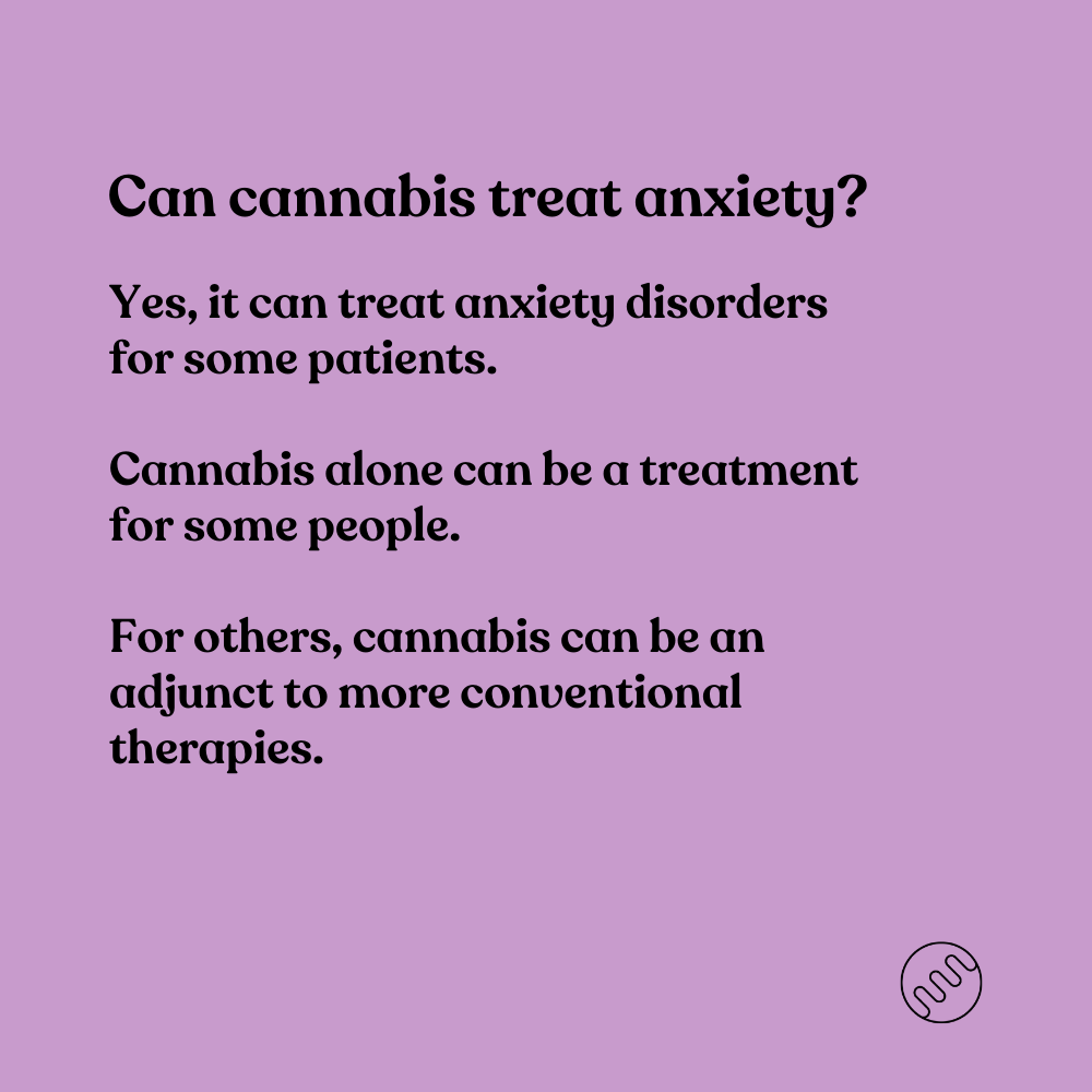 can cannabis treat anxiety - yes