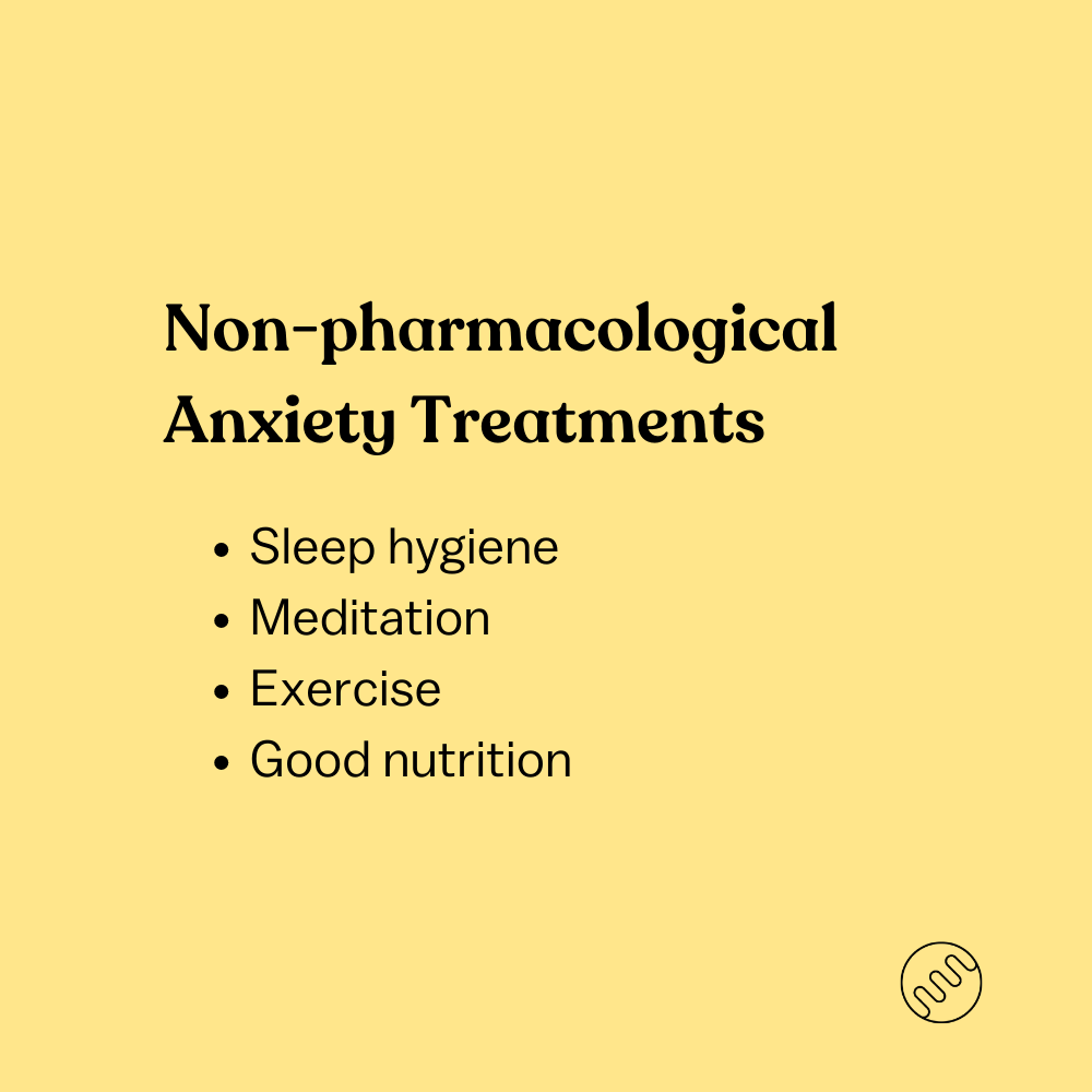 non-pharmacological anxiety treatments