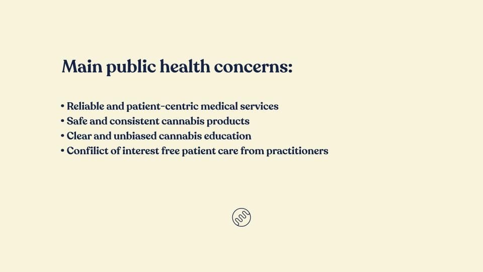 public health concerns for medical cannabis